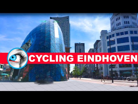 Cycling in Eindhoven City Centre | Eindhoven City Guide | Travel 's Noord Brabant Netherlands