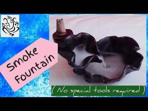 Smoke Fountain   DIY Backflow Incense Burner   No. 💯 Craft video   #100