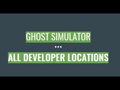 Roblox Ghost Simulator Developer Locations