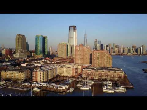 4K | Mavic Pro | Jersey City, NJ | Downtown Manhattan | Sunset Flight