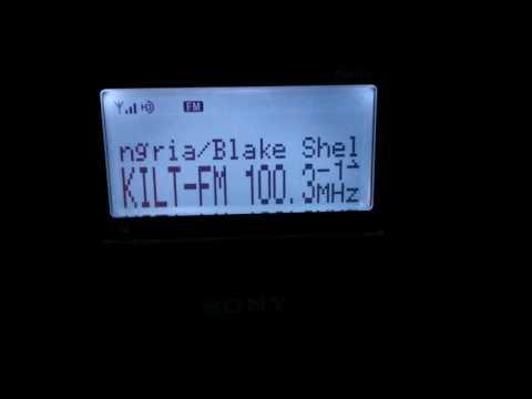 FM DX TROPO KILT-FM 100.3 MHz HD RADIO HOUSTON TX-REYNOSA MX 482 KM