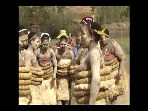 Lesotho: Basotho Women performing a traditional Basotho Song and Dance