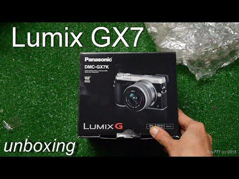 Panasonic Lumix GX7 Black Unboxing (Pacпаковка - посылка с eBay)