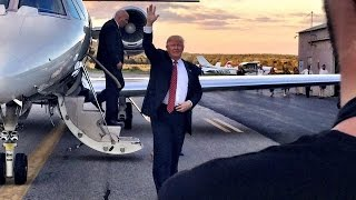Dirty water tv was on the scene of ernie boch's palatial estate to meet republican presidential candidate donald trump. it one crazy circus ride an e...