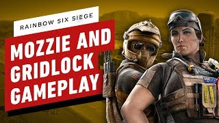 Rainbow Six Siege: Mozzie and Gridlock Gameplay