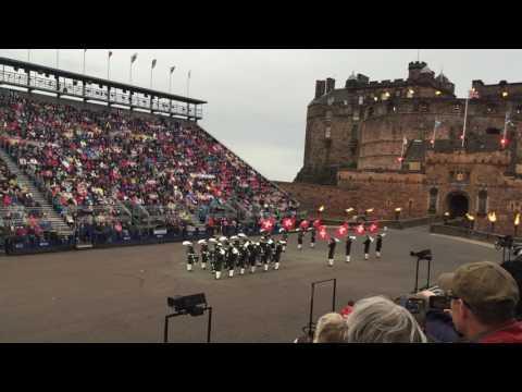 Top Secret Drum Corps, Live Performance at Edinburgh Castle, Scotland