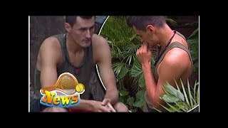 Bernard tomic reaches breaking point on i'm a celeb