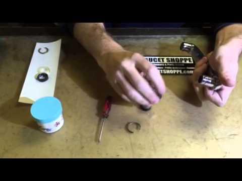 Chicago Faucet spout repair demo - YouTube