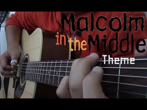 Malcolm In The Middle Theme - Fingerstyle Guitar
