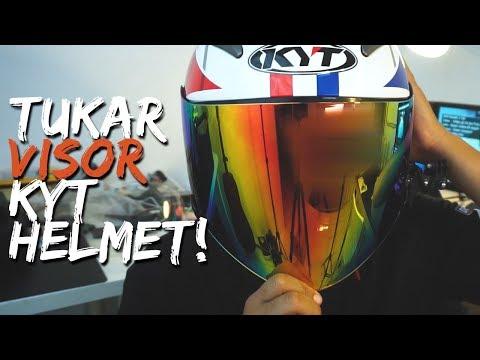 Jom Tukar Visor Helmet KYT