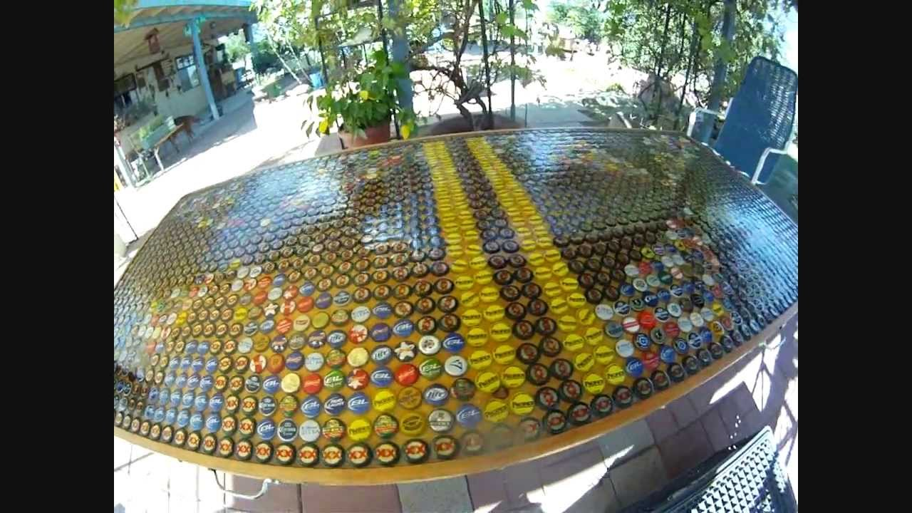 Best Beer Pong Table In The World 1 664 Bottle Cap Youtube
