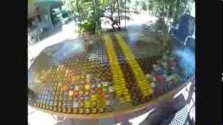 Best Beer Pong Table In The World 1,664 Bottle Cap