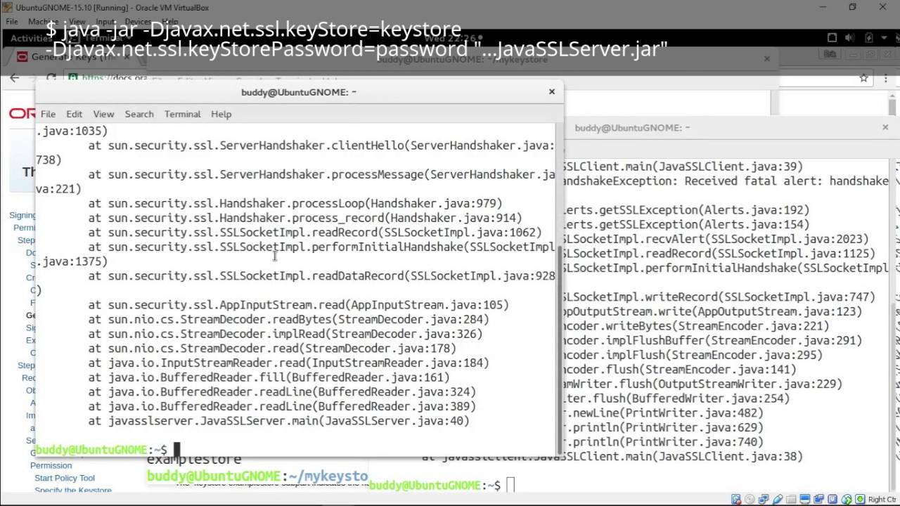 Java-Buddy: Java example of SSL Server and Client, and how to