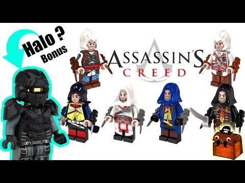 Halo Custom Lego Minifigure And Assassin S Creed Lego Minifigures