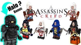 Halo Custom LEGO Minifigure and Assassin's Creed LEGO Minifigures 2017