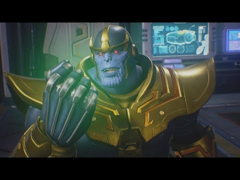Marvel Vs Capcom Infinite - Thanos Finds Out The Truth |