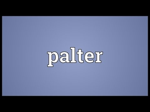 Header of palter
