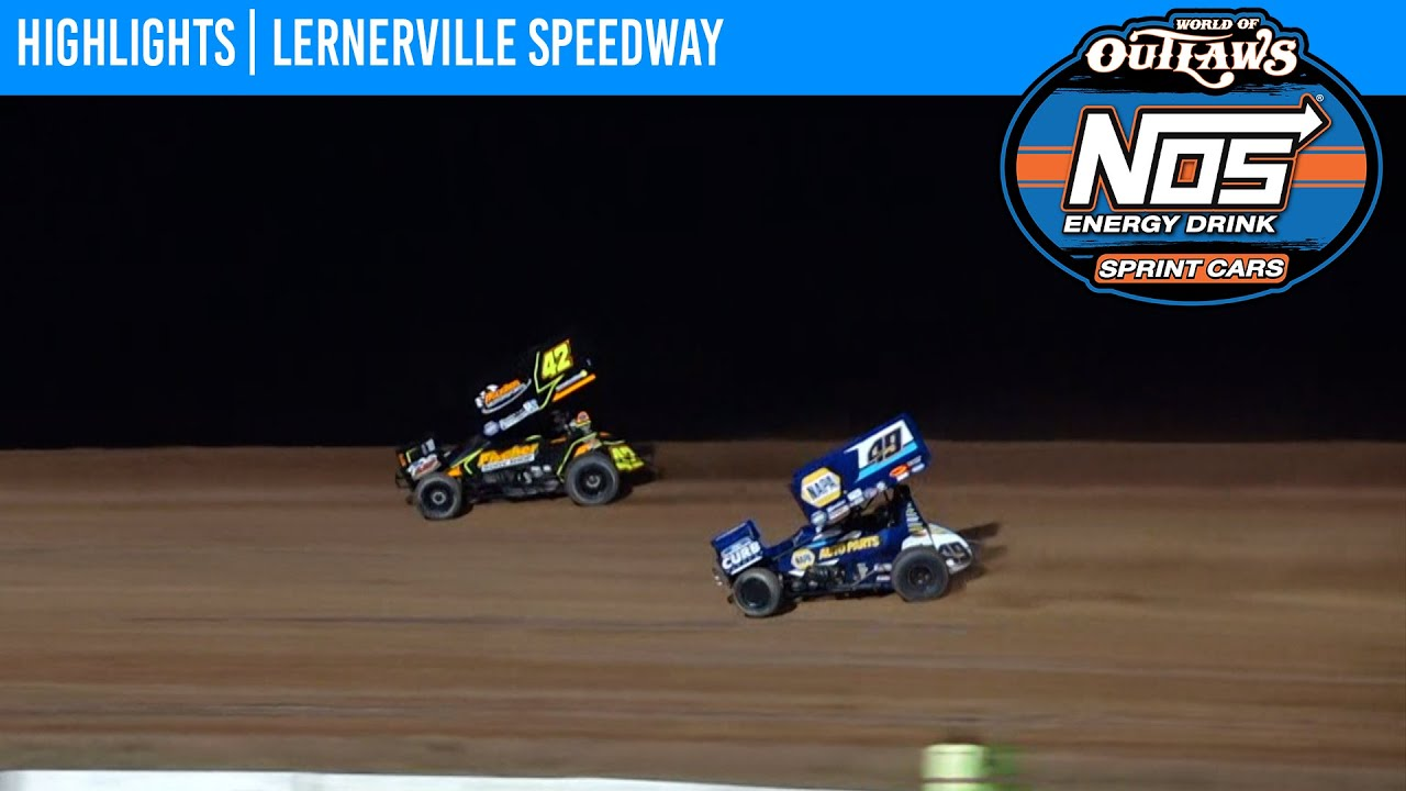 World of Outlaws NOS Energy Drink Sprint Cars Lernerville Speedway, July 20, 2021 | HIGHLIGHTS