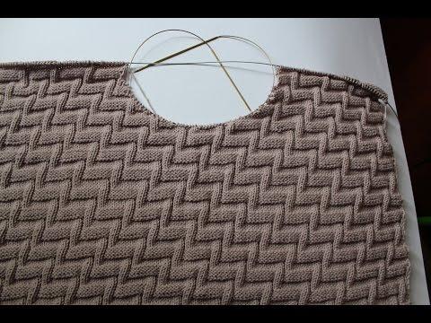 """Вязание спицами: Отчет № 3 по совместному проекту """"Вяжем мужской пуловер"""""""