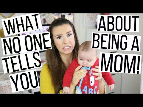 WHAT NO ONE TELLS YOU ABOUT BEING A MOM! | Hayley Paige