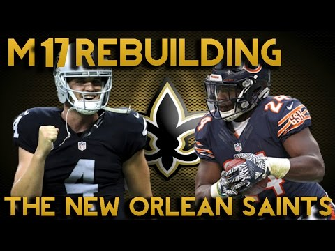 Madden 17 Franchise | Rebuilding The New Orleans Saints! 99 Year 2 Te? Gronk 2.0!