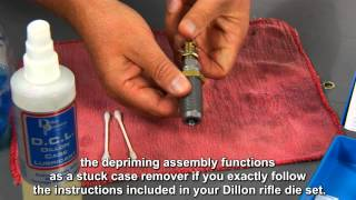 Removing Stuck Rifle Case from a Dillon full length sizing die mov