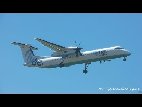 Planes at Newquay Cornwall Airport (NQY-EGHQ)