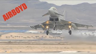 Aircraft Landing At Nellis Red Flag 14-1