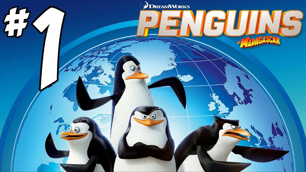 Penguins of Madagascar Video Game Walkthrough PART 1 Cheezy