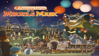 Professor Layton and the Miracle Mask - Puzzles 7 (Extended - 15 Minutes)