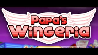 Papa's Wingeria Full Gameplay Walktrough