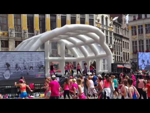 ZUMBA PARTY BRUSSELS GRAND-PLACE