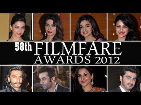 58th Filmfare AwardsRED CARPET