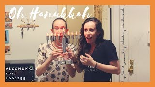 Oh Hanukkah (Inspired by Elf Yourself) | VLOGNUKKAH 2017 DAY 8 | tss6295