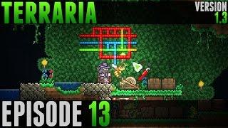 Terraria - #13 - Câbles et Statues