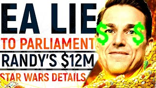 EA... This Is DELUDED: They LIED To Parliament | Randy Pitchford's Shady $12M | Amazon Does An EA