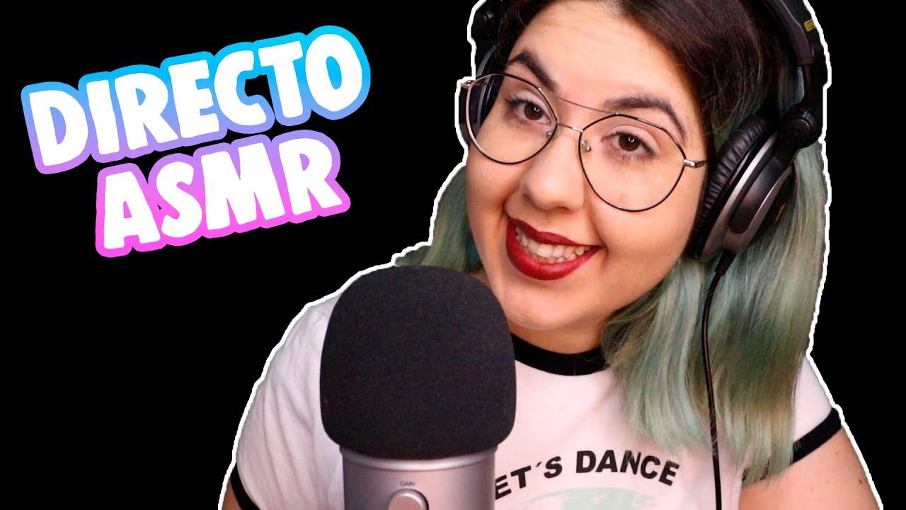 ASMR | DIRECTO - Novedades del canal!!