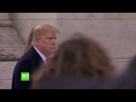 Centenaire de l'Armistice : Cérémonie à l'Arc de Triomphe en direct sur RT France