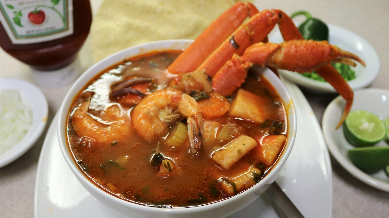 7 mares sopa de marisco ami estilo youtube for Cocinar 7 mares