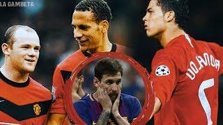 La ÉPICA respuesta de CR7 cuando todos en el Man U le decían que Messi era mejor que él