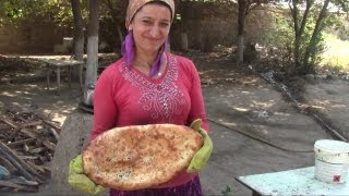 Baking Bread The Old-Fashioned Azerbaijani Way