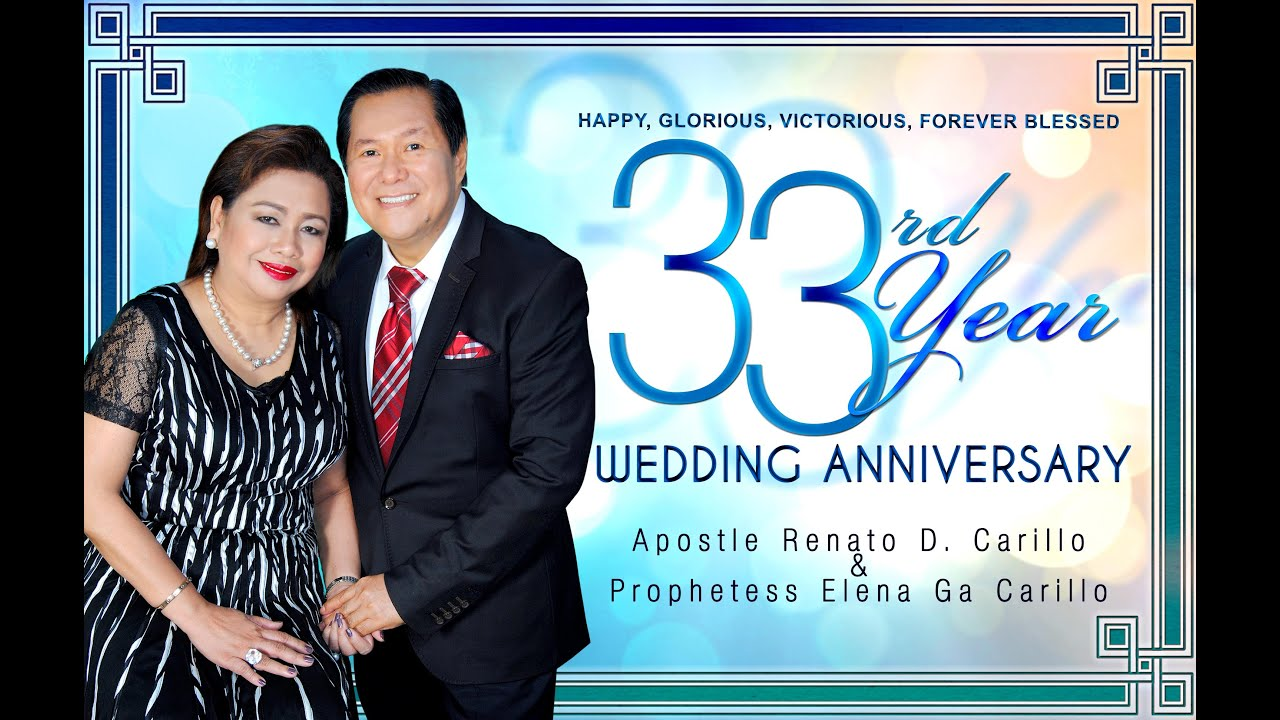 33rd Wedding Anniversary Gift: The Man And Woman Of God's 33rd LIVING LIKE JESUS Wedding