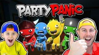 Пати Паник   Угарные мини игры   PARTY PANIC #shorts