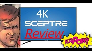 Part 1 Scepter 4k TV and Xbox One S Review