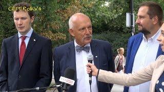 Likwidacja straży miejskiej i picie alkoholu w Warszawie - J. Korwin-Mikke, O. Kida, M. Maciejowski