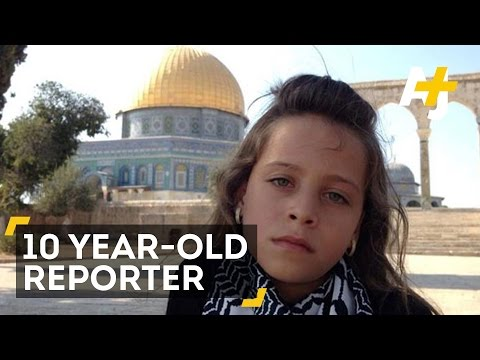 Meet The Ten-Year-Old Palestinian Journalist