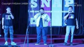 TWO BIG ONE SMALL - CINTA / JERA (MELLY GOESLAW / AGNES MONICA Cover)