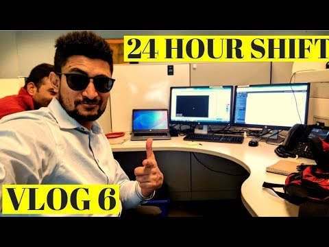 Punjabi Working in Canada (24 Hours Shift | Work Life in Canada )|(Vlog #6)