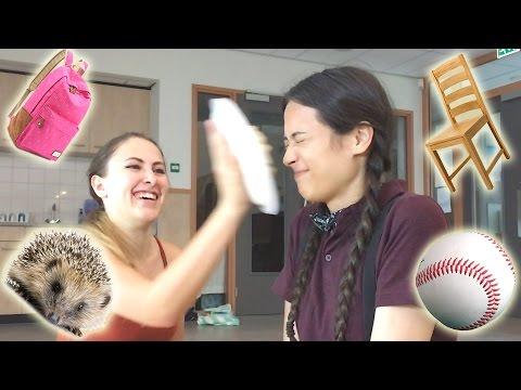MEGA TAARTGEVECHT CHALLENGE OP SCHOOL! || Meisjedjamila