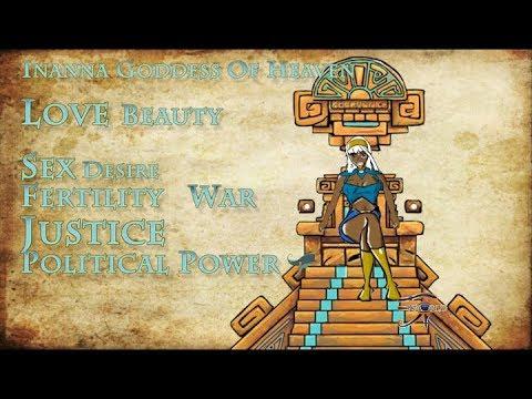 Inanna Sumerian Goddess of love, beauty, and war
